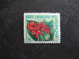 A). Cote Des Somalis:  TB N° 290, Neuf XX. - Unused Stamps