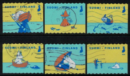2020 Finland, Moomins - Oursea, Complete Used Set. - Gebraucht