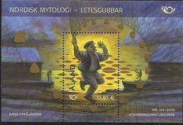 2006 Aland Mi. Bl. 6**MNH    Norden  Nordische Mythen - Ålandinseln