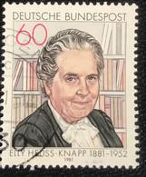 Deutsche Bundespost - C2/41 - (°)used - 1981 - Michel 1082 - Elly Heuss-Knapp - Gebraucht