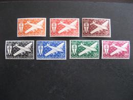 C). Cote Des Somalis: TB Série  PA N° 1 Au N° 7, Neufs X. - Unused Stamps