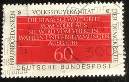 Deutsche Bundespost - C2/41 - (°)used - 1981 - Michel 1107 - Democratie - Gebraucht