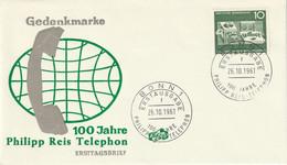 Mi. 373 FDC - FDC: Briefe