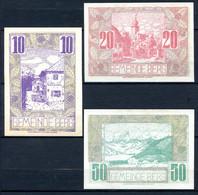 344-Berg 10, 20 Et 50h Brillant 1920 - Austria