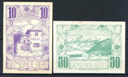344-Berg 10, 20 Et 50h 1920 - Austria