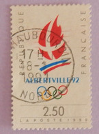 "FRANCE YT 2632 OBLITERATION HAUBOURDIN- NORD 18-1-1991 ""JEUX OLYMPIQUES D ALBERTVILLE"" - Gebraucht"