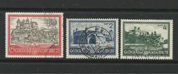 D - Occ. Tedesca POLONIA 1941⏳  Vedute Varie N. 79 / 81 Usati ⌛ 3 Serie - Cat. 6,5 € - Lotto N. 2912 - Besetzungen 1938-45