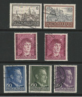 D - Occ. Tedesca POLONIA 1943 ⏳ Copernico + Hitler + Vedute N. 117 /22 Usati E Non ⌛ 3 Serie - Cat. 8 € - Lotto N. 2949 - Besetzungen 1938-45