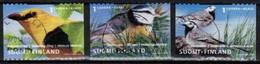 2001 Finland Birds Complete Used Set. - Gebraucht