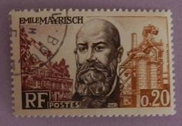 "FRANCE YT 1385 OBLITERE ""EMILE MAYRISCH"" ANNÉE 1963 - Gebraucht"