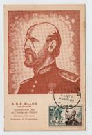 Algérie ALGER 4 Janvier 1954 Millon N° Yv 304, FDC, CM Carte Maximum - Maximum Cards