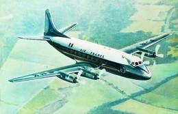 ►  AIR FRANCE -  VICKERS VISCOUNT Rolls Royce - Edt Sapho - Etat Neuf - 1946-....: Modern Era