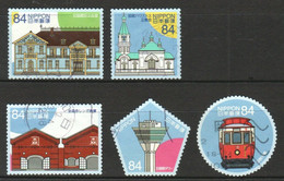 JAPAN 2020 SCENES OF HAKODATE TOURIST ATTRACTIONS COMP. SET OF 5 STAMPS IN USED (**) - Used Stamps