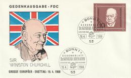Mi. 554 FDC - FDC: Briefe