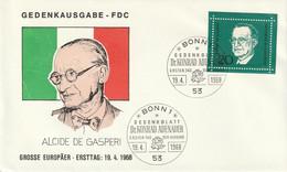 Mi. 555 FDC - FDC: Briefe