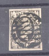 Allemagne  -  Saxe  :  Mi  3 (o) - Sachsen