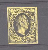 Allemagne  -  Saxe  :  Mi  6  (o) - Sachsen