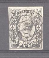 Allemagne  -  Saxe  :  Mi  8  (o)    ,  N2 - Sachsen