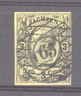 Allemagne  -  Saxe  :  Mi  11  (o)  Nr 63   Herrnhut - Sachsen