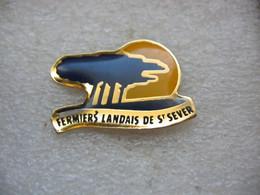 Pin's Des Fermiers Landais De Saint SEVER (Dépt 40) - Cities