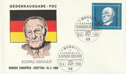 Mi. 557 FDC - FDC: Briefe
