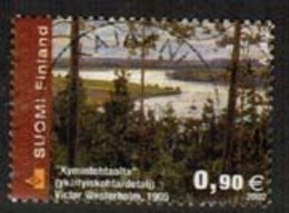 2002 Finland, 0,90 Landscape Painting Used. - Gebraucht