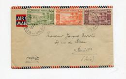 !!! NOUVELLES HEBRIDES, LETTRE PAR AVION DE VILA POUR PARIS DU 2/2/1949 - Storia Postale