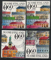 2002 Finland, Unesco Old Rauma Complete Used Set. - Gebraucht