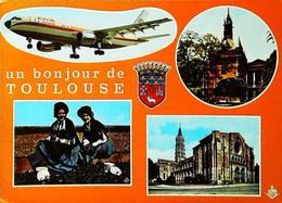 ►    TOULOUSE - Avion AIRBUS A300B 1970s - 1946-....: Modern Era