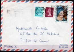 N° 950 Et Type Machin  Sur Lettre - Grande Bretagne  - Elizabeth - Covers & Documents