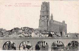 "CPA 81 ALBI Viaduc Du Chemin De Fer Et Cathédrale ""Le Tarn Illustré"" 1916 - Albi"