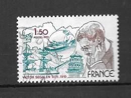 France: N°2034 Oblit: Victor Ségalen - Gebraucht