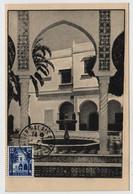 Algérie ALGER  1 Juillet 1954 Palais D' Eté N° Yv 314, FDC, CM Carte Maximum - Maximum Cards