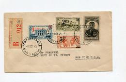 !!! MARTINIQUE, LETTRE RECOMMANDEE DE FORT DE FRANCE POUR NEW YORK DU 8/10/1945 - Briefe U. Dokumente