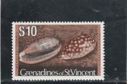 Saint Vincent & Grenadines - Yvert 81  ** - Coquillages - St.Vincent & Grenadines