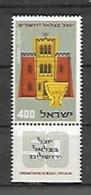 Cinquantenaire De L'académie De Peinture - Unused Stamps (with Tabs)