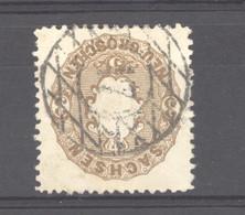 Allemagne  -  Saxe  :  Mi  18b  (o) - Sachsen