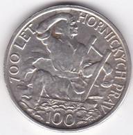 Tchécoslovaquie 100 Korun 1949, En Argent . KM# 29 - Czechoslovakia
