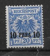 Deutsches Reich, Guter Ungebrauchter Wert Der Ausgabe Für Ostafrika Von 1893 - Kolonie: Deutsch-Ostafrika
