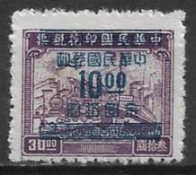 China 1949. Scott #919 (M) Plane, Train And Ship - 1912-1949 Republic