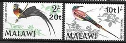Malawi Mlh * (7.5 Euros) 1970 Birds Set - Malawi (1964-...)