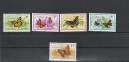 Saint Vincent & Grenadines - Yvert Série 60 à 64  ** - Papillons Fleurs - St.Vincent & Grenadines