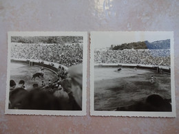 6 Photos Anciennes Corrida Torero EL CORDOBES à San Feliu De Guixols Le 15/08/1964 - Tauromachie - Sporten