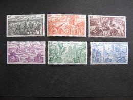 Cote Des Somalis: TB Série  PA N° 14 Au N° 19, Neufs X. - Unused Stamps
