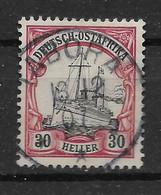Deutsches Reich, Guter Gestempelter Wert Der Ausgabe Für Ostafrika Von 1905, Stempel TABORA - Kolonie: Deutsch-Ostafrika