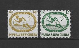 PAPUA NEW GUINEA * 1963 * Complete Set 2 Stamps * MNH** South Pacific Games - Mi.No 50-51 - Papua New Guinea