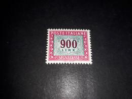 "ITAMIX36 REP. ITALIANA 1984 SEGNATASSE NUOVO VALORE LIRE 900 ""XX"" - Paketmarken"