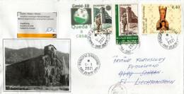 Lettre D'Andorre Adressée à Schaan (Liechtenstein) Pendant Confinement Covid-19 Andorre, Retour à L'expediteur - Briefe U. Dokumente