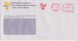 Absenderfreistempel - Düsseldorf, Betriebskrankenkasse BKK, 1997 - Briefe U. Dokumente