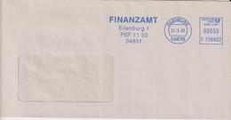Absenderfreistempel - Eilenburg, Finanzamt, 2003 - Briefe U. Dokumente
